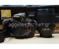 Nikon D5200 + 18-105 VR μεταχειρισμένη