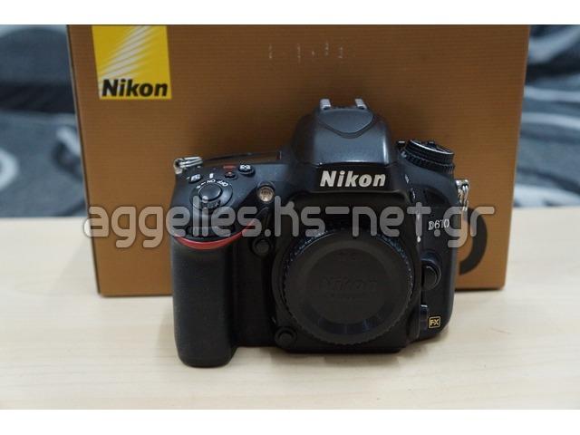 Nikon D610 Body  σώμα μόνο μεταχειρισμένη