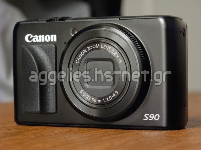 Canon Powershot S90 (used) μεταχειρισμένη