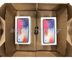 Apple iPhone X 64GB €800euro / 256GB €850 Ευρώ Ασημί και χώρος γκρι