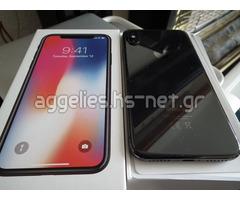Apple iPhone X 64GB cost 400 EUR , iPhone X 256GB cost 450 EUR , iPhone 8/8 Plus 64GB = 300EUR