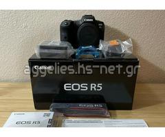 Canon EOS R5 , Canon EOS R6 Mirrorless Camera, Canon EOS 5D Mark IV