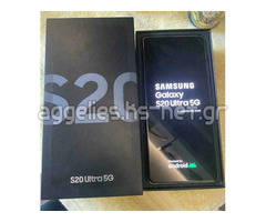 Samsung Galaxy S20 128GB = €550 , Samsung S20+ 128GB = €600, Samsung S20 Ultra 128GB = €650