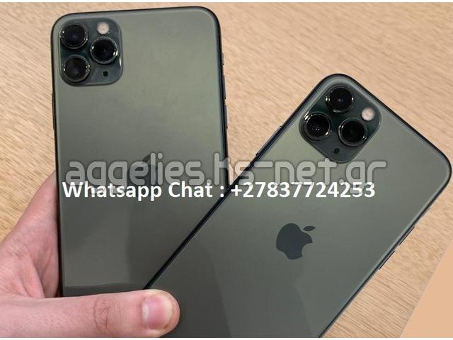 Apple iPhone 11 Pro 64GB = 600 EUR, iPhone 11 Pro Max 64GB = 650 EUR ,iPhone XS64GB = €400